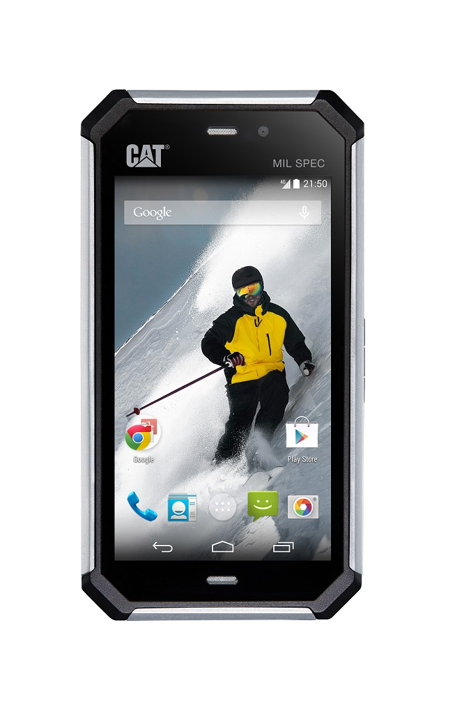New Rugged 4G Smartphone From Cat Phones